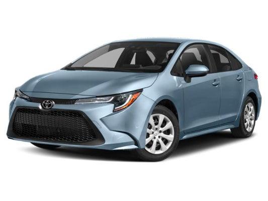 Toyota Corolla Used >> 2020 Toyota Corolla Le